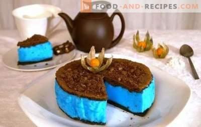Diätetischer Kuchen - eine für die Figur harmlose Köstlichkeit. Die besten Rezepte für diätetische Kuchen: Gelee, Kuchen ohne Mehl, Napoleon