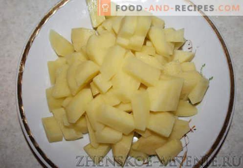 Gnocchi con formaggio - le migliori ricette. Come cucinare correttamente e gustosi gnocchi con formaggio a casa.