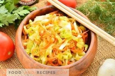 Condimento per l'insalata da cavolo fresco