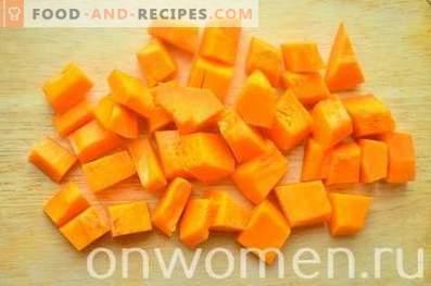 Kürbismarmelade mit Orange