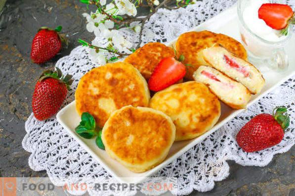 Cheesecakes con fragole