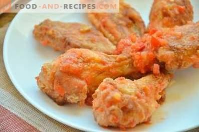 Chicken Wings zoals KFC
