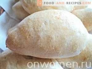Polpettine con cavolo su pasta lievitata nel forno