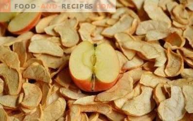 Come conservare le mele essiccate
