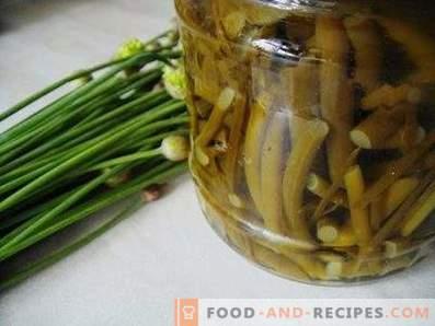 Frecce marinate di aglio istantaneo