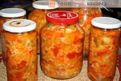 insalata Kuban per l'inverno