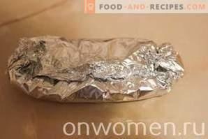 Oslič, pečen v pečici s krompirjem