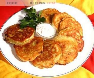 Clatite de cartofi cu brânză