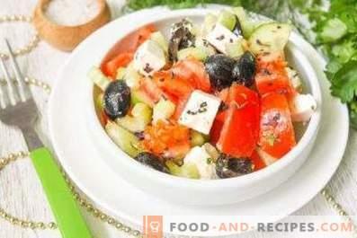 Condimento per insalata greca