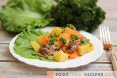 Agnello in umido con verdure