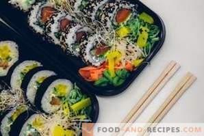 Qual è la differenza tra sushi e panini?