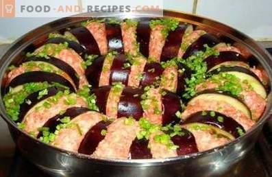 Melanzane con carne macinata cotta nel forno