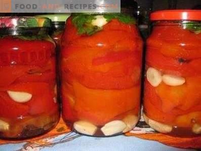 Armenian Bulgarian pepper for the winter
