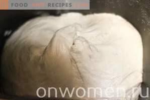 Polpette con cavolo sul latte nel forno
