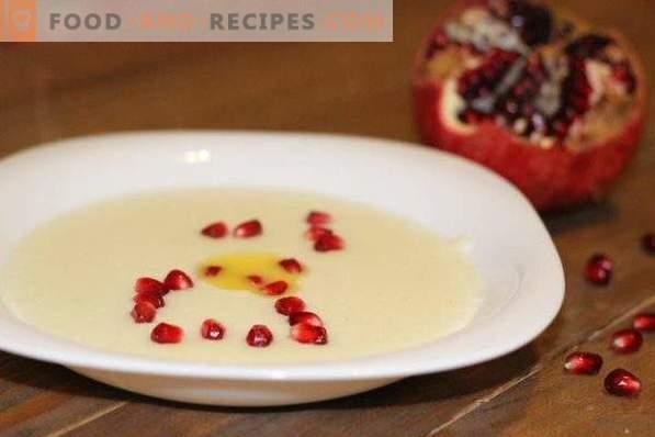 Porridge di semola con latte