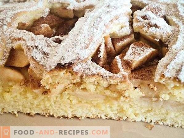 Torta con mele pasta frolla