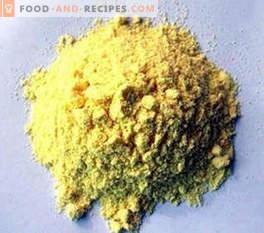 E102 dye: effect on the body
