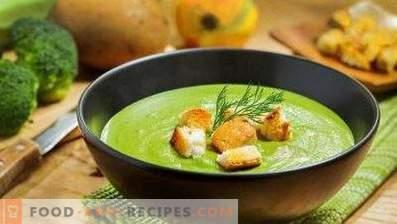 Crema di broccoli con crema