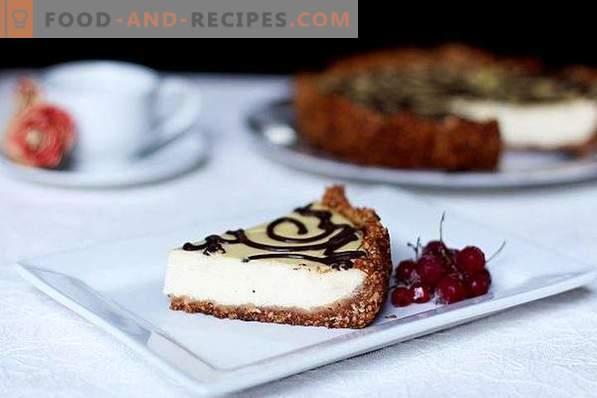 Cheesecake con cagliata