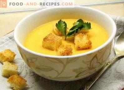Zuppa di crema di pollo