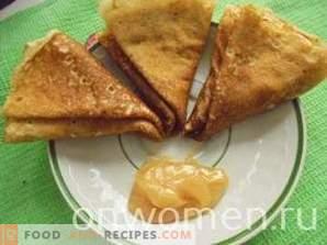Frittelle dietetiche su kefir