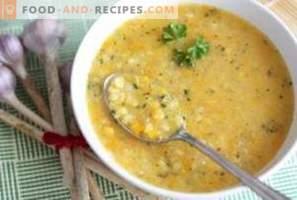 Грах супа: полза и вреда