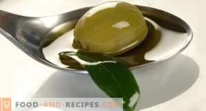 Contenuto calorico dell'olio d'oliva