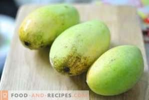 Come conservare i manghi