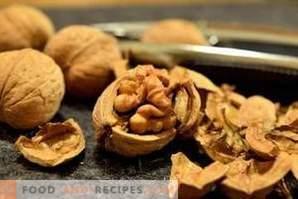 Как се сушат орехите