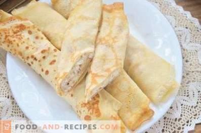 Pancakes con ricotta e banana