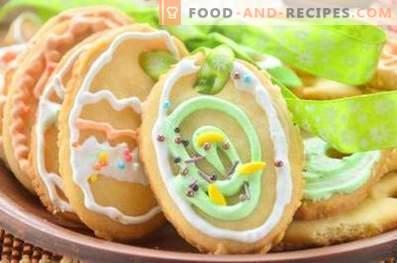 Biscotti all'uovo di Pasqua