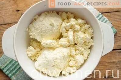 Готвене от сирене с касис в бавен котлон