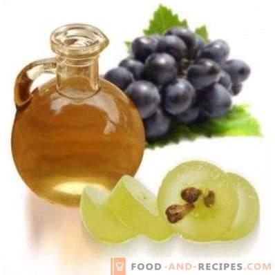 Olio di semi d'uva: proprietà e usi