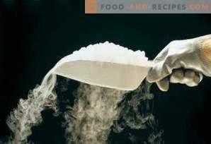 Как да съхранявате сух лед
