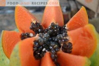 Come mangiare papaya