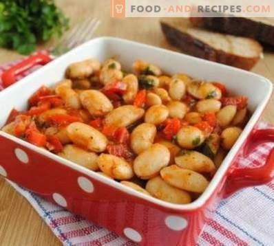 Fagioli, in umido con verdure