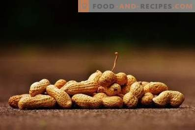 Cómo freír cacahuetes en una sartén