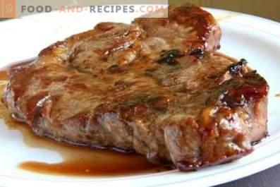 Bistecca di maiale al forno
