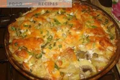 Carne alla francese con patate nel forno