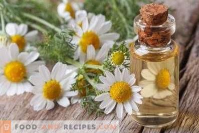 Olio di camomilla: proprietà e applicazioni