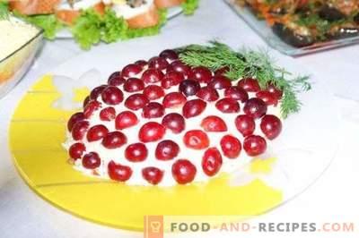 Insalata Tiffany con pollo e uva