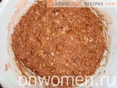 biscotti al cioccolato d'avena