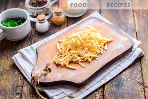 Insalata di Malibu con pollo, formaggio e verdure. Provalo di sicuro!