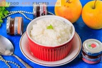 Как се готви оризова каша
