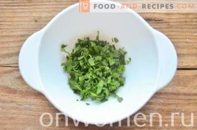 Petti farciti con spinaci e uova