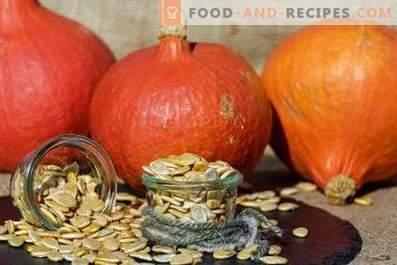 Come conservare i semi di zucca