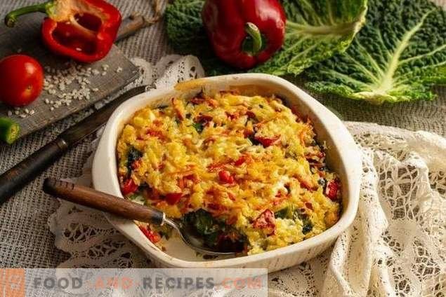 Вегетарианско печено от савойско зеле
