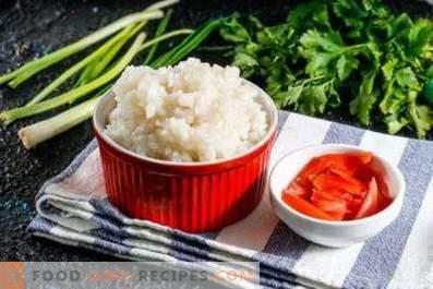Cómo cocinar arroz para rollos