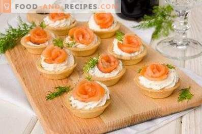 Tartellette di salmone