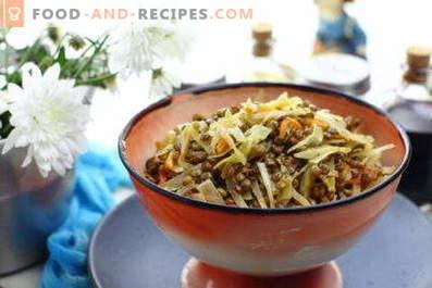 Lenticchie con verdure